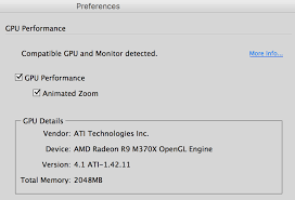 Gpu Support And Animated Zoom Arrives For The Mac