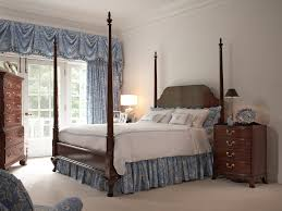 cherry bedroom furniture. Bridgeport Pencil Post Queen Bed Cherry Bedroom Furniture