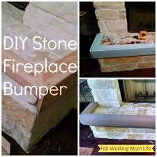 diy stone fireplace per inside baby proof home design