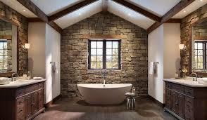 stone veneer interior walls
