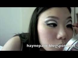 cut crease eye makeup for monolids