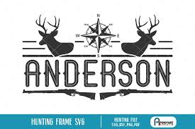 The vector file '' is a eps file formate. Hunting Split Frame Svg A Hunting Vector Frame Svg 192032 Cut Files Design Bundles
