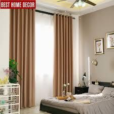 Solide Moderne Blackout Vorhänge Für Wohnzimmer Schlafzimmer Fertige