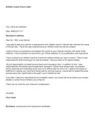 Best Solutions Of Cover Letter Examples For Sport Jobs Cover Letters