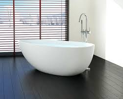 freestanding bathtub with chrome tub filler installation drain l