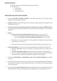 Sample Achievements In Resume For Freshers Photo 2 Sample