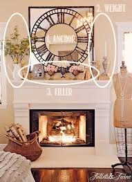 Fresh Simple Fireplace Mantle Decor 24854Decorating Ideas For Fireplace Mantel