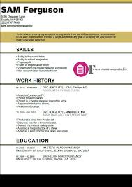 Actor Resume Template ⋆ Free Resume Templates