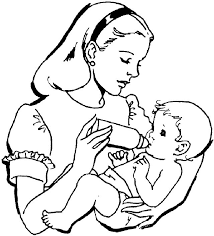 Small Picture Free Printable Coloring Pages Of Babies Coloring Home