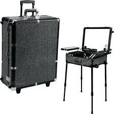 portable makeup station high quality lighting makeup case with portable chair makeup station with lights trolley