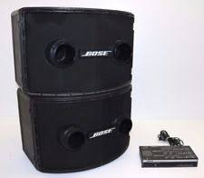 bose 501 speakers. pair of bose 802 series ii professional loud speakers w/ 802c controller 501