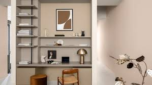home office colour schemes using warm