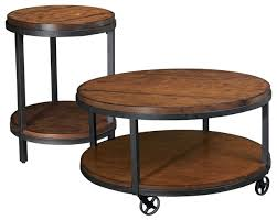 small round coffee tables