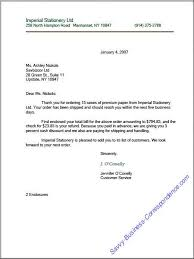 Business Correspondence Letters Examples Indented Or Semi Block Business Letter