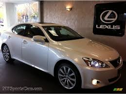 lexus is 250 2008 white. Delighful White Starfire White Pearl  Black Lexus IS 250 AWD Inside Is 2008 L