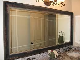 large bathroom mirror frame. Gorgeous Bathroom Mirrors Wood Frame Mirror Kit Traditional Salt Lake City Large