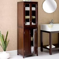 Unique Bathroom Storage Cabinets Bathrooms Show Home Design