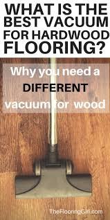 the mistake of using ordinary vacuums on hardwood floors