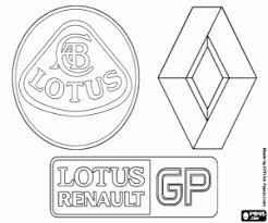 Kleurplaten F1 Formule 1 Vlaggen Emblemen En Logos Kleurplaat 2