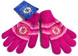 284 x 300 jpeg 12 кб. Amazon Com Chelsea Fc Official Soccer Pink Knitted Gloves One Size Pink Clothing