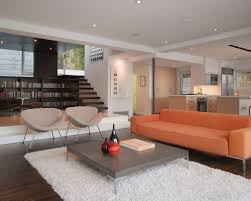 modern japanese furniture. Inspiration For A Small Modern Open Concept Dark Wood Floor And Brown Living Room Library Japanese Furniture I