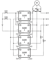 solid state relay further information technical guide forward and reverse operation of three phase motor diagram