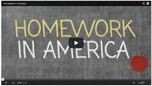 video do american kids have too much homework