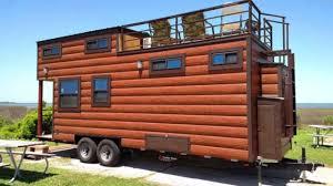 tiny house log cabin. The Hunter\u0027s Dream Tiny Home Log Cabin Style House