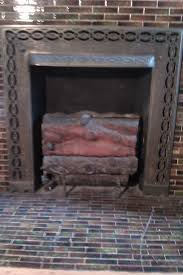 items similar to victorian cast iron gas fireplace logs insert antique period original from 1899 rare on