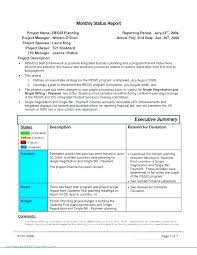 format of a management report monthly report sample template writing format templates