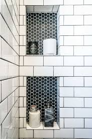 impressive best bathroom colors. I Like The White Tile, Dark Grout And Then Opposite For Niches. Form Meets Function In An Impressive Bathroom Renovation Best Colors O