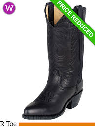 9 5 medium durango women s black leather western boot rd4100 28 jpg