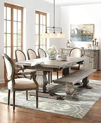 farmhouse pedestal table and chairs elegant farmhouse dining room sets with bench distressed wood