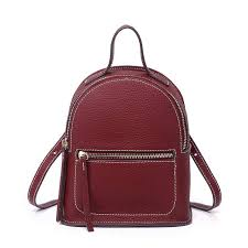 Luxury Real Leather Small <b>Backpack Designer Backpacks</b> Women ...