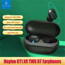 <b>Haylou</b>-<b>GT1 XR</b> Wireless Charging Tws-<b>Bluetooth</b> Headphones ...