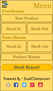 Menu Spreadsheet Template Ready To Use Excel Inventory Management Template Free Download
