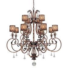minka lavery aston court 12 light bronze chandelier