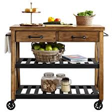 Rustic Kitchen Island Cart Kitchen Cart Drop Leaf Kitchen Cart And Island Large Drop Leaf