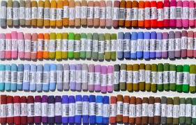 Unison Pastel Color Chart Mount Vision Pastels Jacksons Art Blog