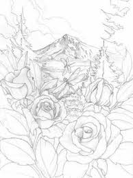 roses dragonfly coloring pages colouring detailed advanced printable kleuren voor volwenen bergsma gallery press paintings originals