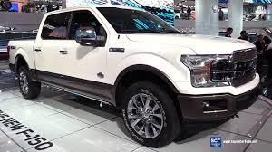 2018 ford f350 king ranch. unique 2018 2018 ford f150 king ranch  exterior and interior walkaround debut at  2017 detroit auto show youtube in ford f350 king ranch