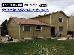 Paint Roofing Colorado Springs Garage Door - Front Range Exteriors Inc.