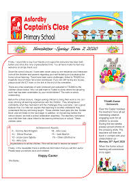 Newsletter -Spring Term 2 2020