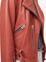 allsaints balfern leather biker jacket vintage pink salonnaturals com las 14102749 vintage pink allsaints jackets stylish women s jackets