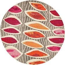 large round rugs modern pink area rug contemporary orange carpet soft large bathroom rugs target