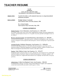 Professional Teacher Resume Template Free Download Writing For