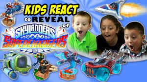Small Picture Sky Kids REACT to SKYLANDERS SUPERCHARGERS Reveal Demo Cars