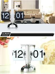 14 continental creative digital flip clock personalized desk watch libra auto flip clock retro decor living