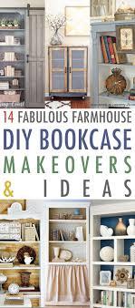 14 fabulous farmhouse diy bookcase ideas makeovers the cottage market