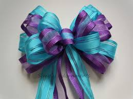Turquoise Baby Shower Decorations Lavender Pew Bows Etsy